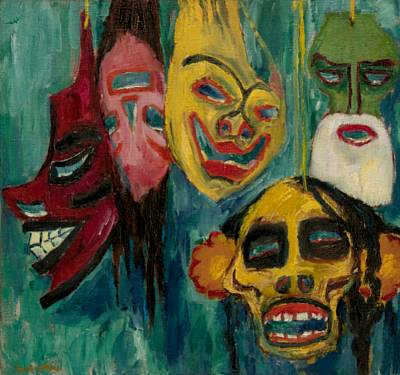 Masks by Emil Nolde