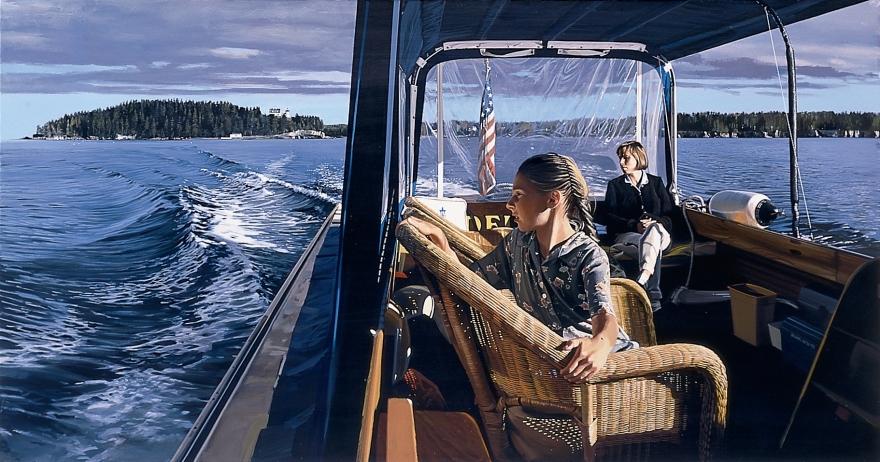 Richard Estes Water Taxi